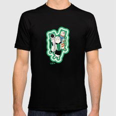 Joana's cats SMALL Black Mens Fitted Tee
