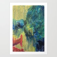 Abstract Landscape III Art Print