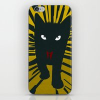 Evil Cat iPhone & iPod Skin