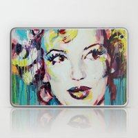 Merylin Monroe cinema and pop culture icon - portrait Laptop & iPad Skin