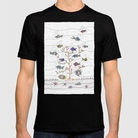 Coral Of Life (Underwate… Mens Fitted Tee Black SMALL