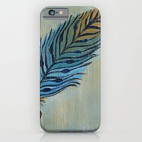 iPhone & iPod Case featuring Tri-Color Feather by Kristen Fagan
