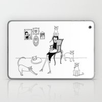 cat lady Laptop & iPad Skin