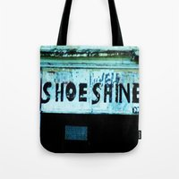 Shoe Shine  Tote Bag