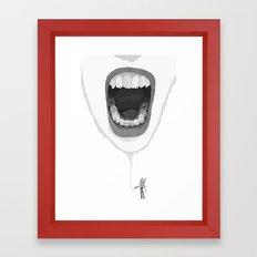 rargh! Framed Art Print