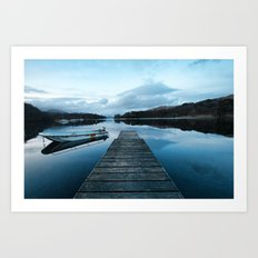 Coniston Jetty Art Print
