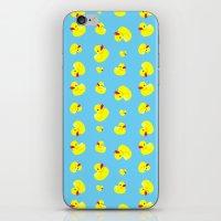 Rubber Duck Pattern iPhone & iPod Skin