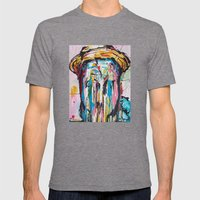 Dr. Sole Mens Fitted Tee Tri-Grey SMALL