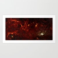 Center Of The Milky Way … Art Print