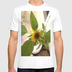 Flower Spider SMALL Mens Fitted Tee White
