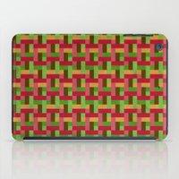 Woven Pixels VI iPad Case