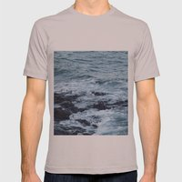 Stormy Waters Mens Fitted Tee Cinder SMALL
