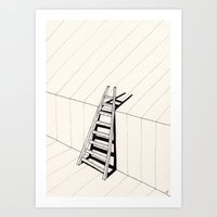There's No Way Out Of He… Art Print