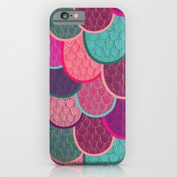 Fish Scales And Mermaid … iPhone 6 Slim Case