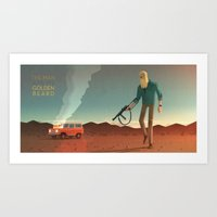The Man With The Golden … Art Print