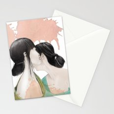 tell me a secret Stationery Cards