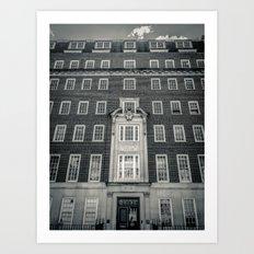 Egginton House Art Print