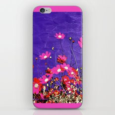 Coquetry floral iPhone & iPod Skin
