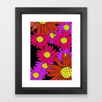 Pushing Daisies Framed Art Print