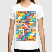 Reflections 1 Womens Fitted Tee White SMALL