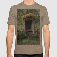Relics Mens Fitted Tee Tri-Coffee SMALL