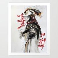 Burning Like A Bridge Th… Art Print