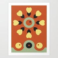 POW-WOW Art Print