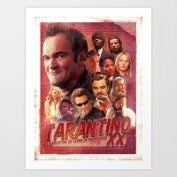 Tarantino Art Print