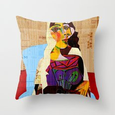 Picasso Women 6 Throw Pillow