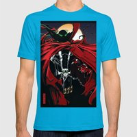 Spawn Mens Fitted Tee Teal SMALL