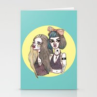 Two-Toned Stationery Cards