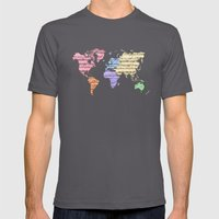 Earthsong - Color Mens Fitted Tee Asphalt SMALL