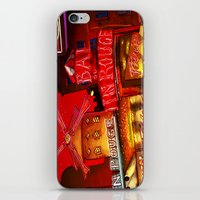 Paris in Red iPhone & iPod Skin