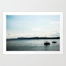 Le Lac Art Print