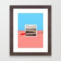 Third Pilot Framed Art Print