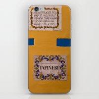 Yellow Wall iPhone & iPod Skin