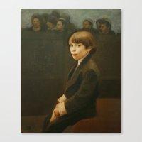 Little Benny Canvas Print