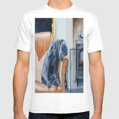 After the Walk Mens Fitted Tee White SMALL