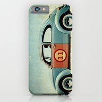iPhone & iPod Case featuring number 11 - VW beetle by vin zzep