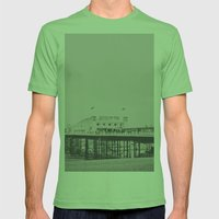 Brighton Mens Fitted Tee Grass SMALL