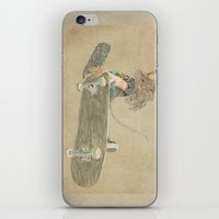 Skate Rat  iPhone & iPod Skin