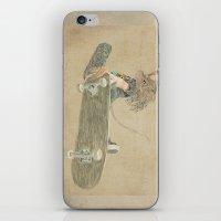 skate rat  iPhone & iPod Skin