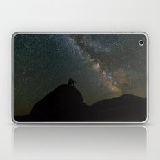 Man Before The Milky Way… Laptop & iPad Skin