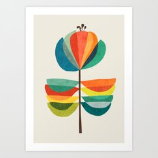 Whimsical Bloom Art Print