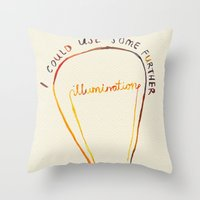 Lizzie Bennet #1 Throw Pillow