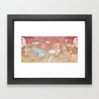 The Migration Framed Art Print