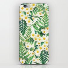 Textured Vintage Daisy A… iPhone & iPod Skin