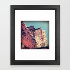 The Rainbo Framed Art Print