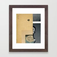 The Source Of Madness Framed Art Print