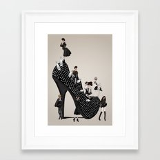 Punk Noir Framed Art Print
